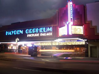 Hayden Orpheum Picture Palace - Attractions