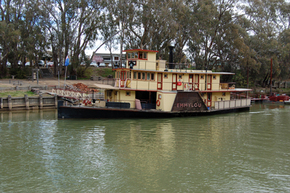 Emmylou Paddle Steamer - Attractions