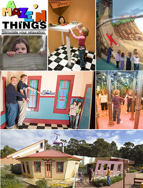 A Maze 'N Things - Attractions
