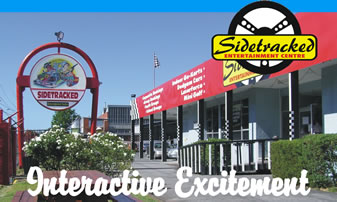 Sidetracked Entertainment Centre - Attractions