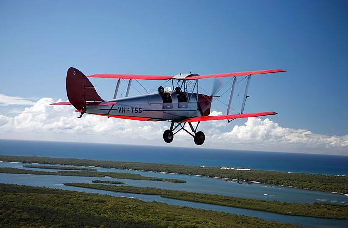Tigermoth Joy Rides - Attractions