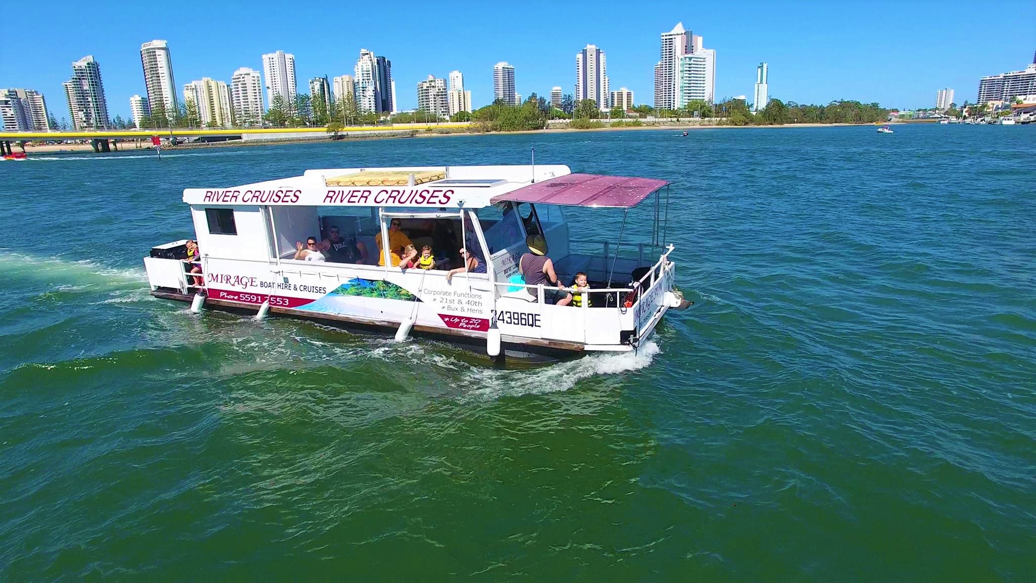 Mirage Boat Hire - Attractions