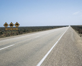 Eyre Highway - Attractions