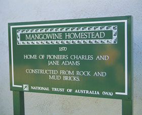 Mangowine Homestead - Attractions