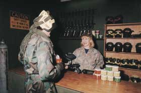 Indoor Skirmish - Paintball Sports - Attractions