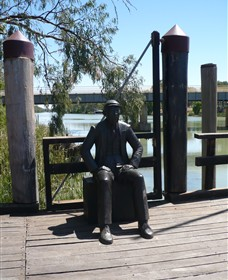 Captain John Egge Statue - Attractions