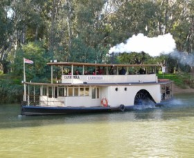 Paddlesteamer Canberra - Attractions