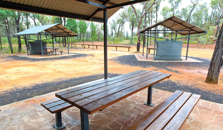 Salt Caves picnic area