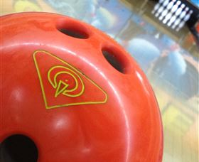 Orange Tenpin Bowl