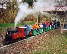Holbrook Miniature Railway - Attractions