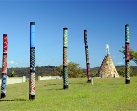 Maclean Tartan Power Poles - Attractions
