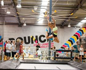 Bounce Inc Trampoline Park - Attractions