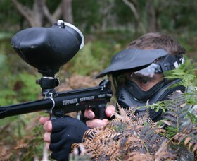 Tactical Paintball Games - Attractions