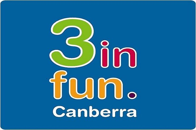3infun Canberra Attraction Pass Including the Australian Institute of Sport Cockington Green Gardens and Questacon