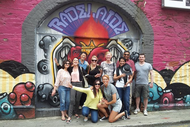 Adelaide City Food and Street Art Walking Tour - Attractions