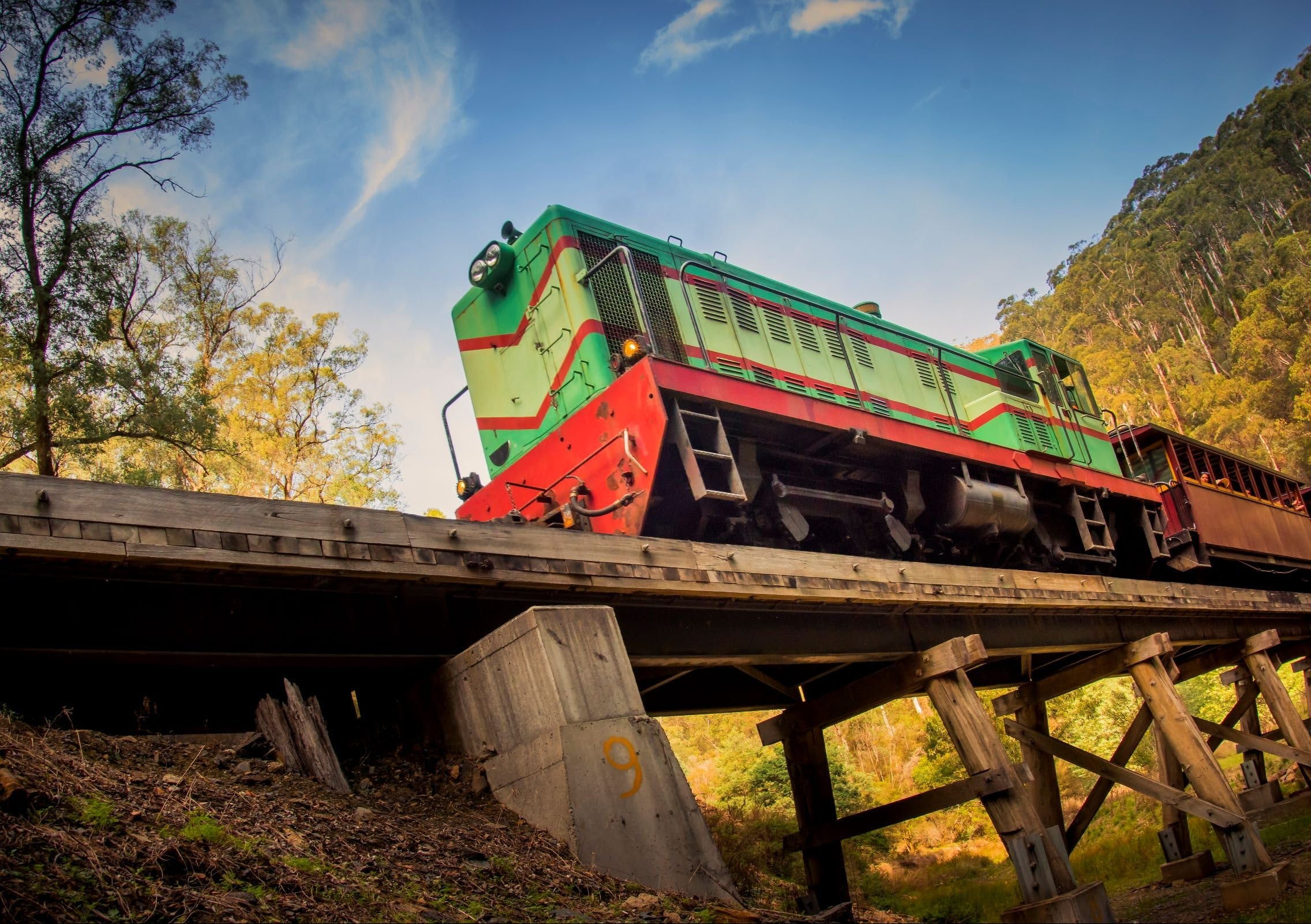 Walhalla Goldfields Railway - Attractions