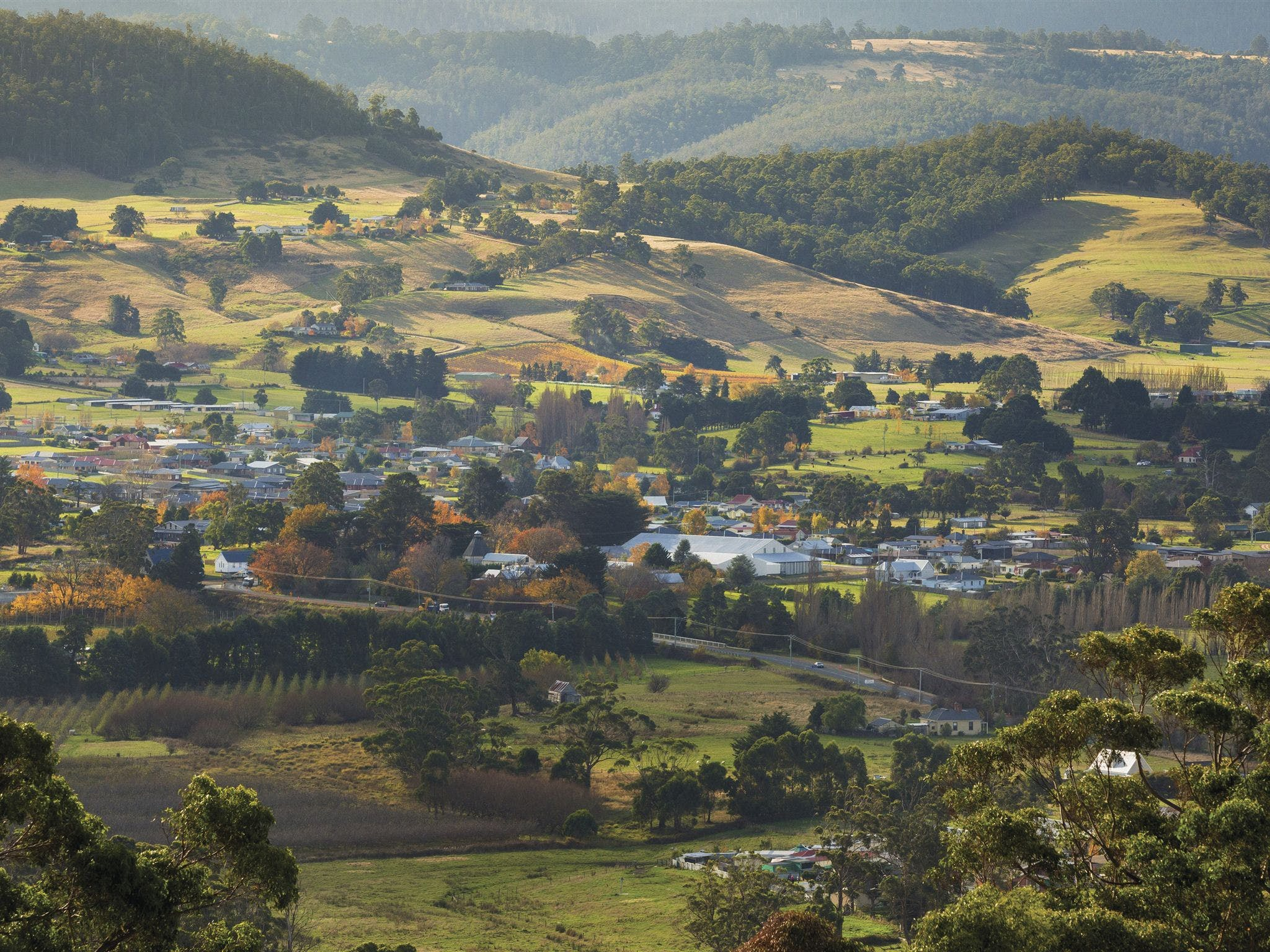 Huonville - Attractions