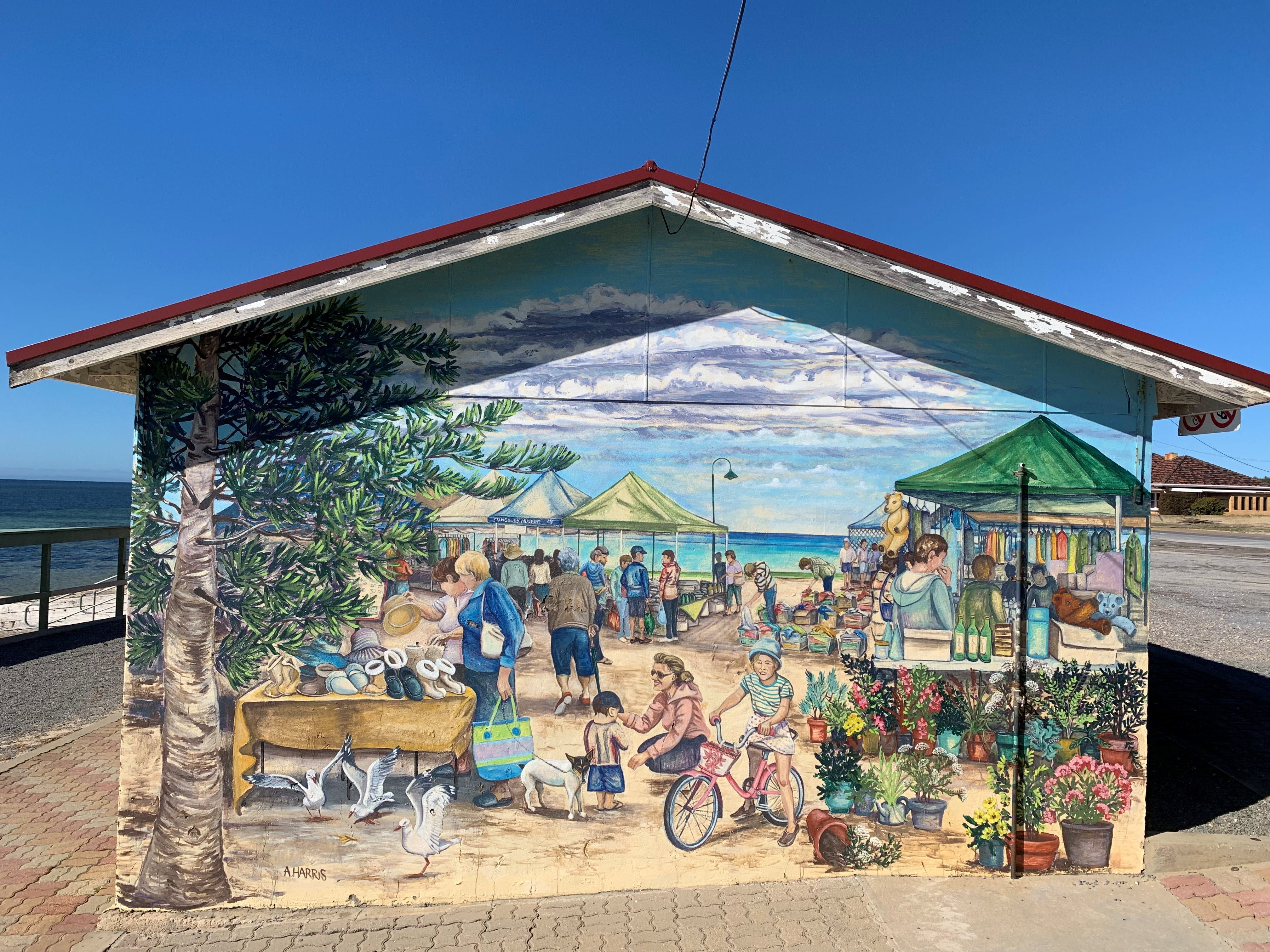 Stansbury Foreshore Murals - Attractions