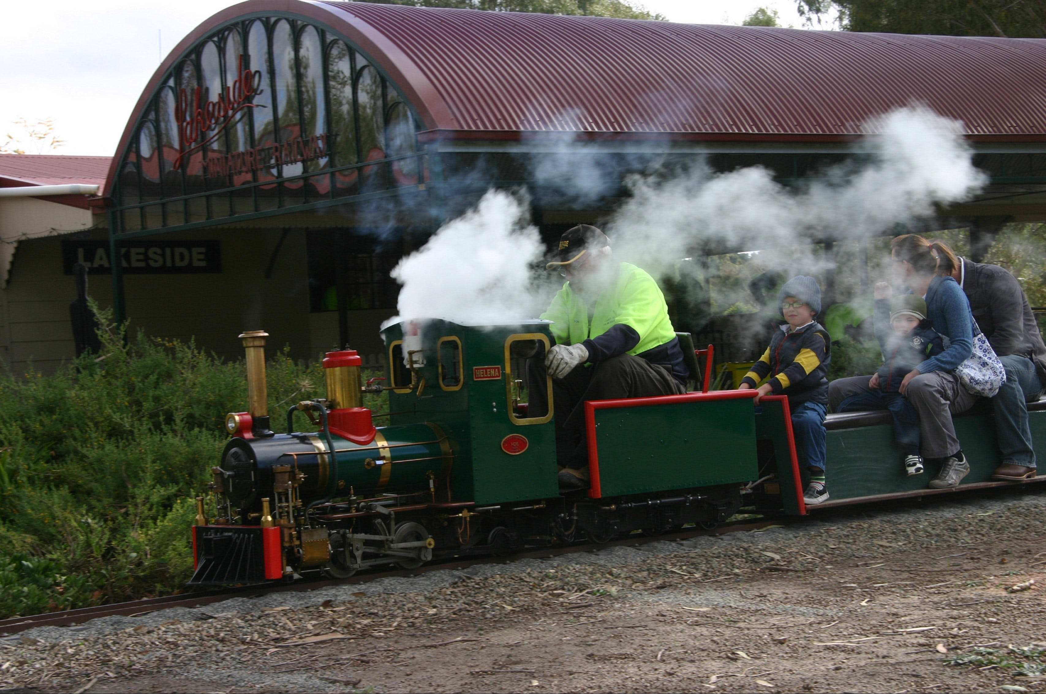 Clare Valley Model Engineers - Attractions