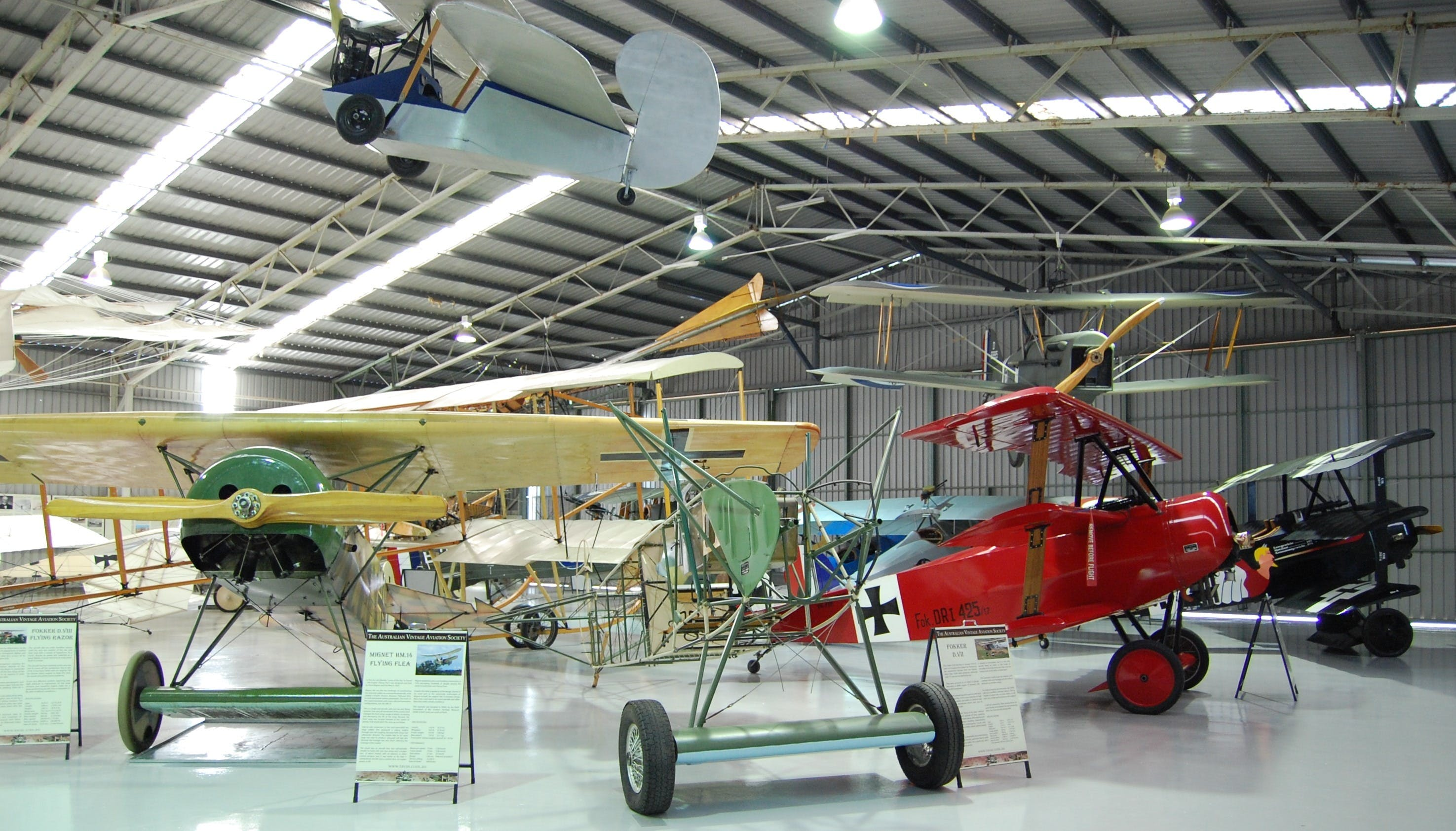 The Australian Vintage Aviation Society Museum - Attractions