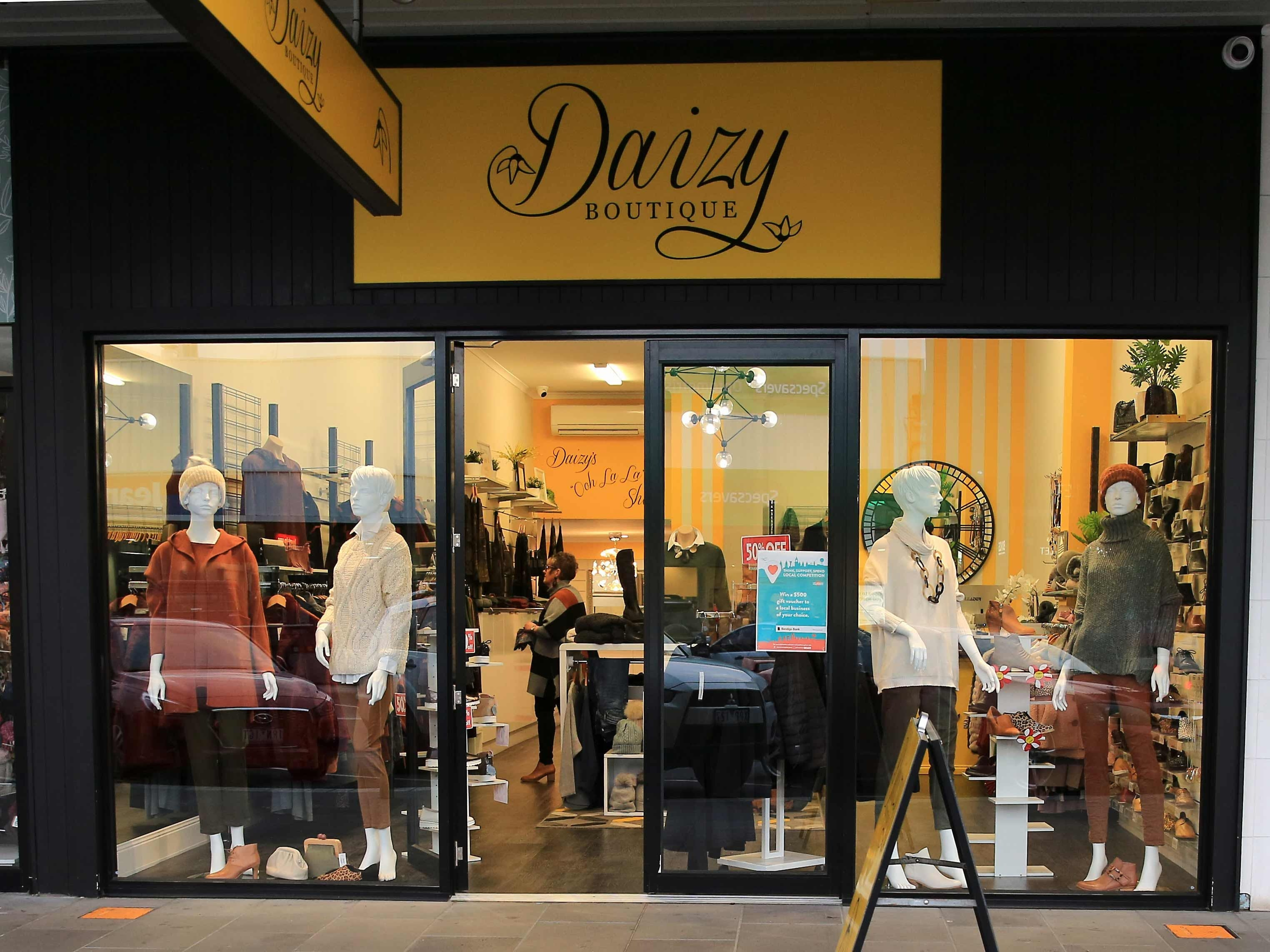 Daizy Boutique - Attractions