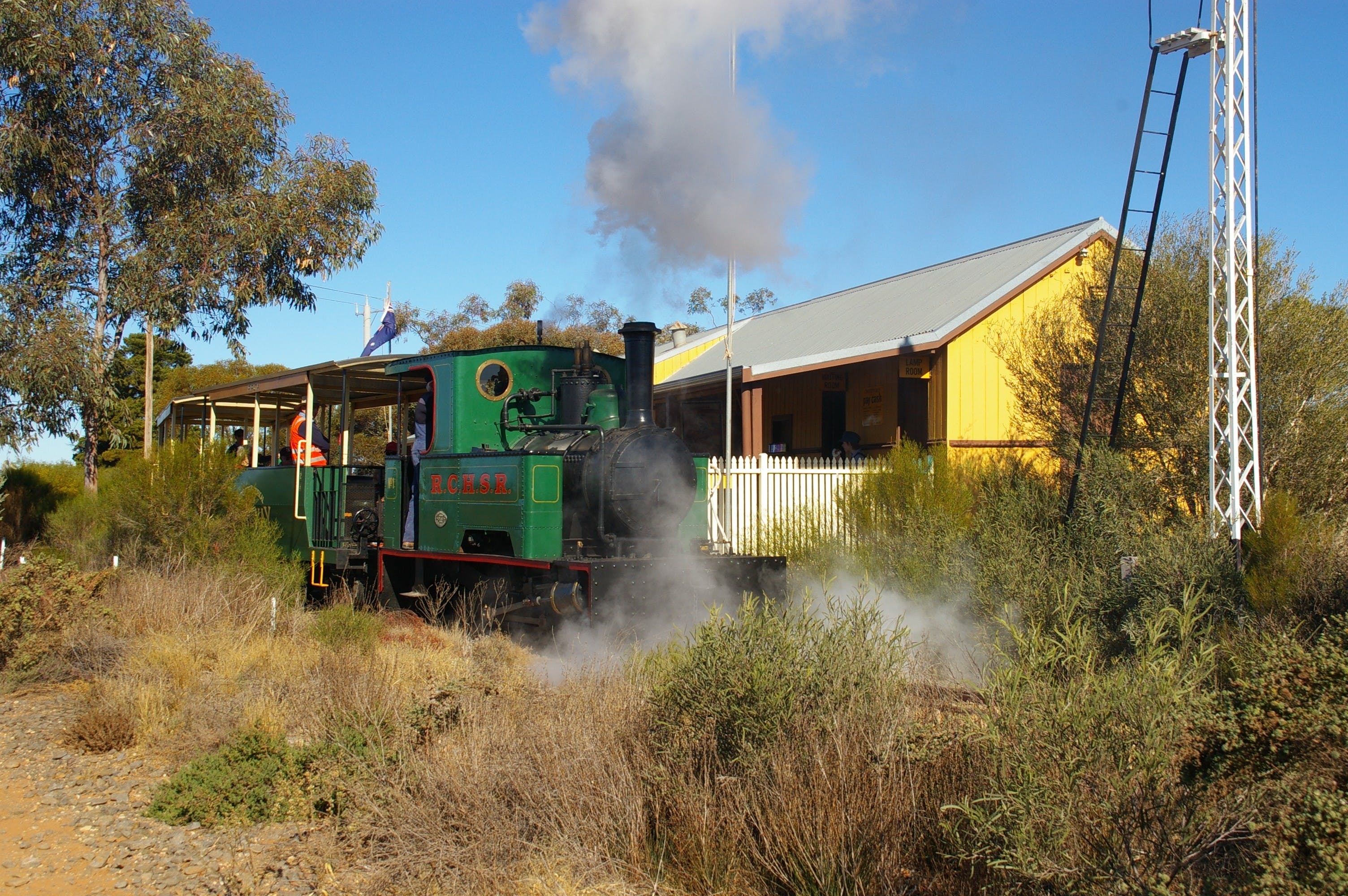 Red Cliffs Historical Steam Railway - Attractions