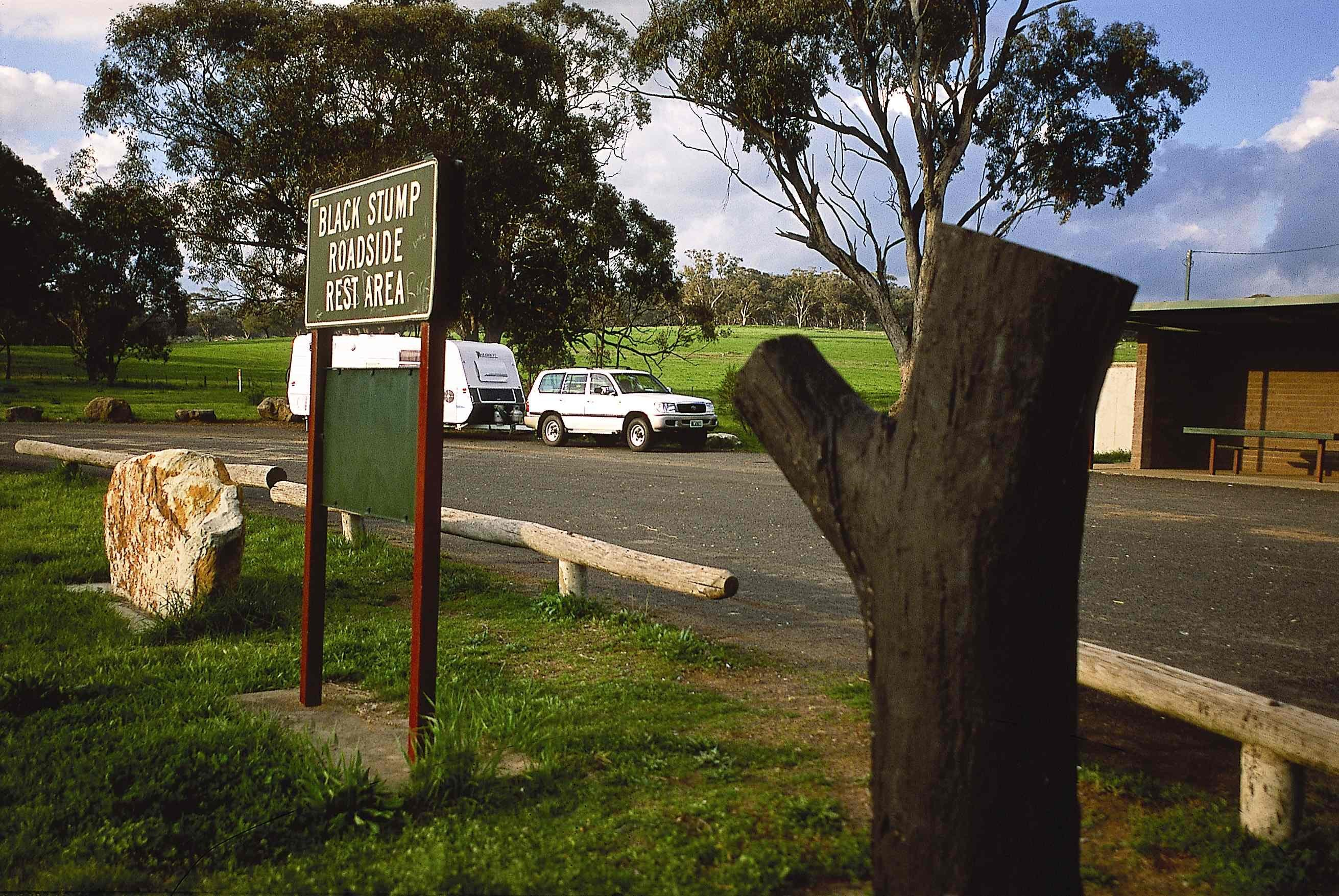 Black Stump Rest Area - Attractions