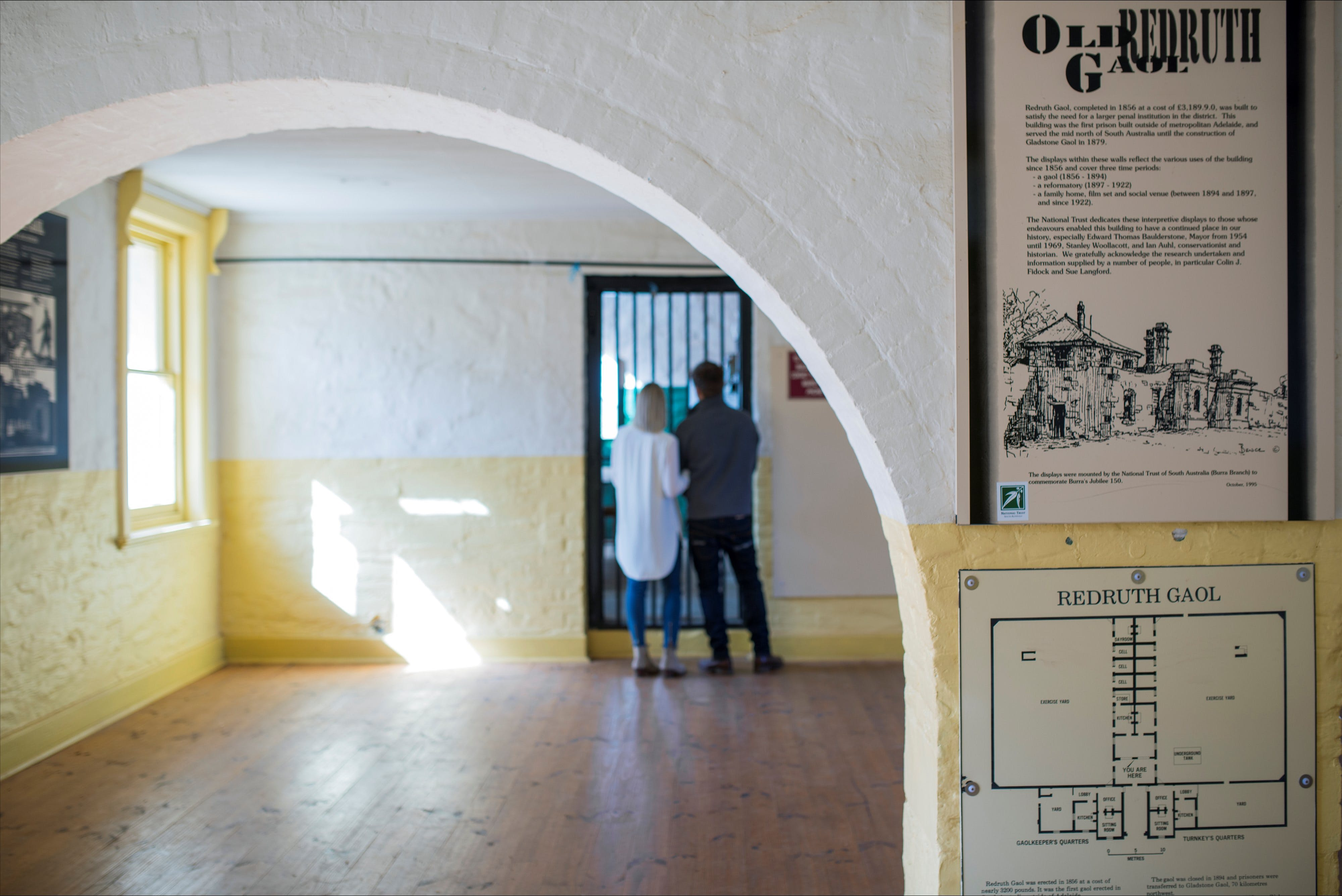 Redruth Gaol - Attractions