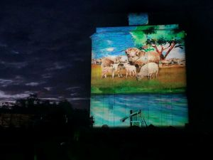 Quorn Silo Light Show - Attractions