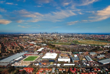 Melbourne Showgrounds - Attractions