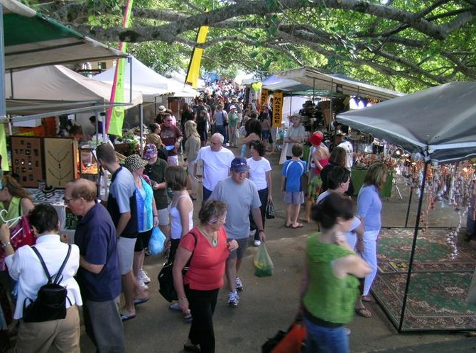 Eumundi Markets - Attractions